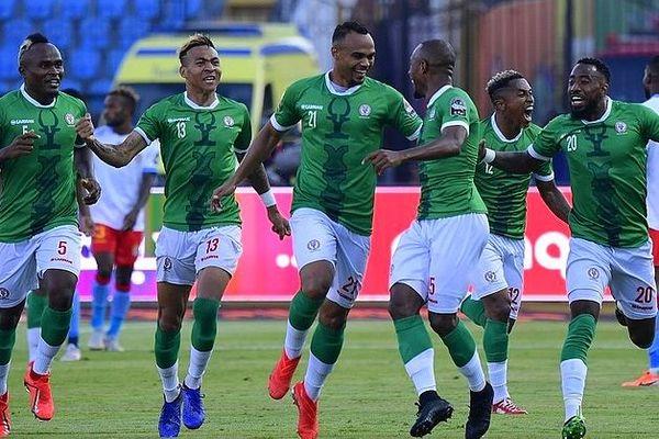Les barea lors de la Coupe d'Afrique des Nations 2019