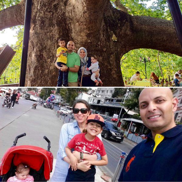 La petite famille voyage beaucoup grâce au travail de Tawfiq, pilote de ligne.