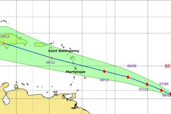 BERYL cyclone