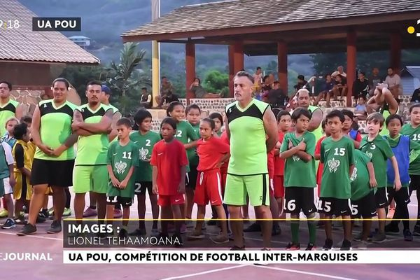 Football : reprise des rencontres inter-îles jeunes aux Marquises