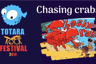 chasing crabs