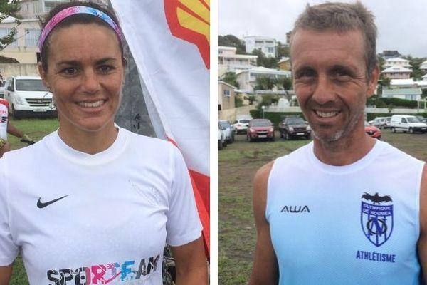 Charlotte Robin et Patrick Vernay, trophée Shell Pacifi, mars 2019