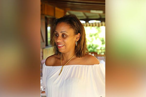 Nadia Accus Adaine, conseillère territoriale.