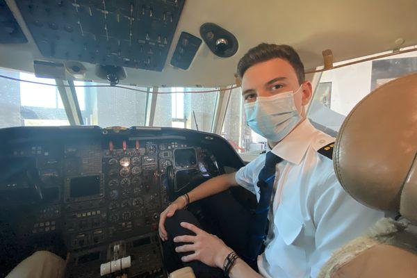 Thibault Thiriet, Réunionnais futur pilote de ligne s'envole pour la Floride