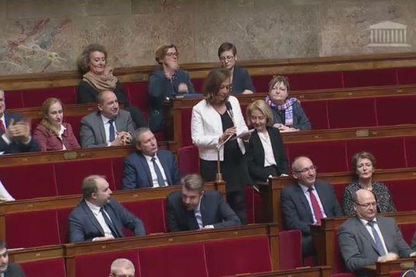 Nicole Sanquer à l'Assemblée nationale 2019