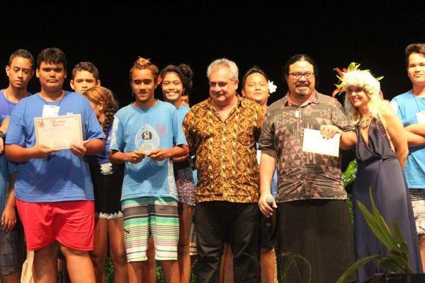 Prix du meilleur orchestre : Atuona