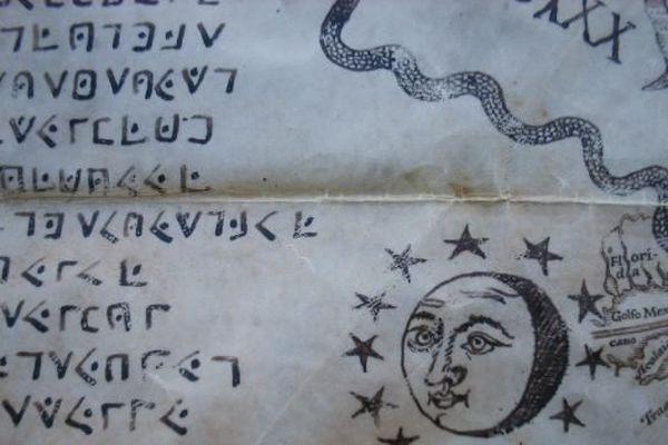 Extrait du cryptogramme