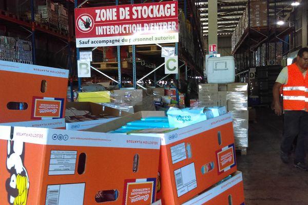 L'entrepôt de la Banque Laimentaire de Martinique montre ses limites.