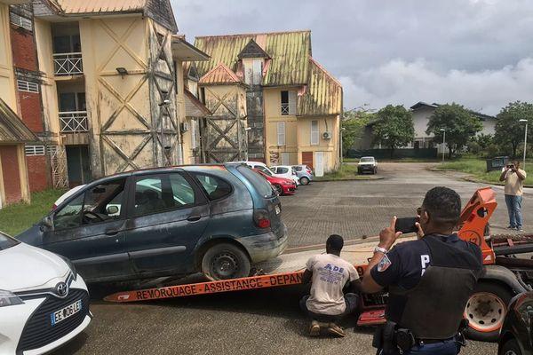 Enlèvement des voitures