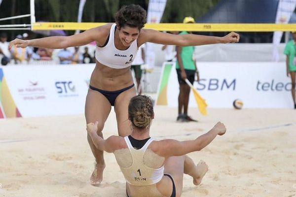 En beach-volley, les Réunionnaises ont décroché une seconde médaille d'or, ce mercredi 24 juillet.