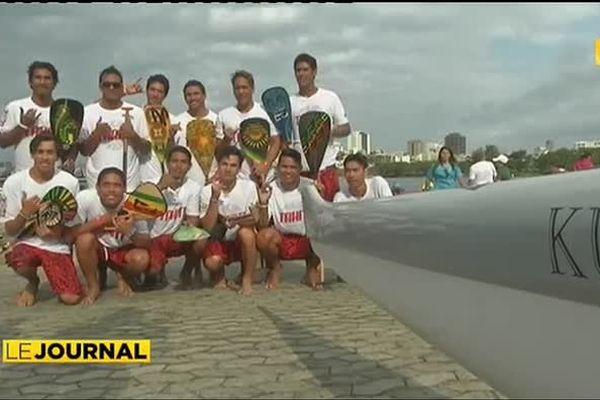 5 en or, 1 en argent, les Tahitiens font fort à Rio !