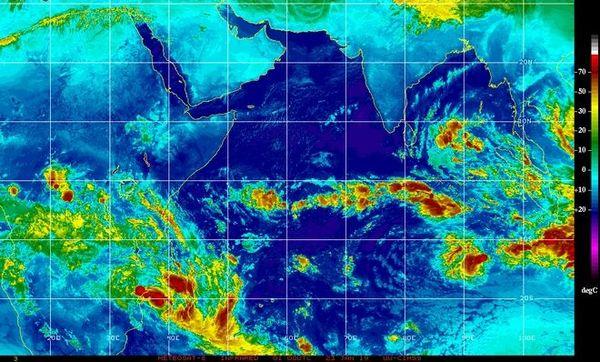 Image satellite 23 janvier 2019