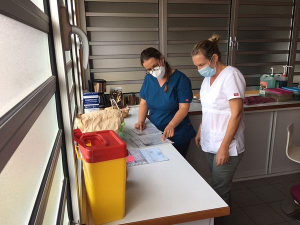 Tournée Covid d'infirmière à domicile, septembre 2021