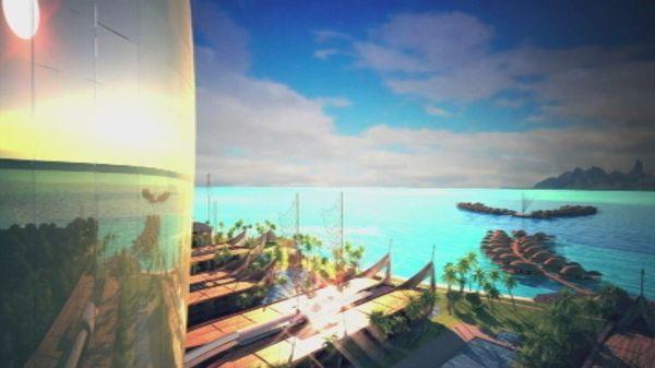 mahana beach projet hawaiien
