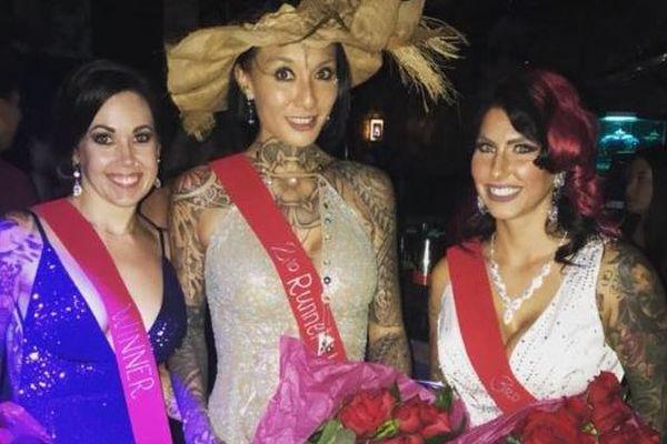 Estelle Anania - Miss world inked 2018