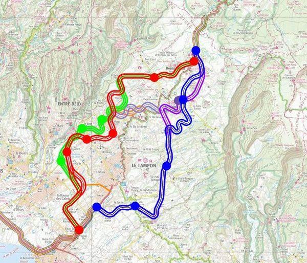 Les 6 tracés de la route des géraniums