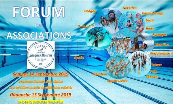 Affiche forum des assoc piscine