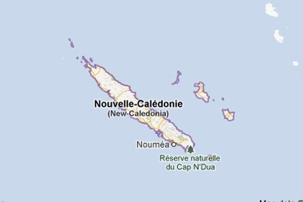 carte nouvelle calédonie