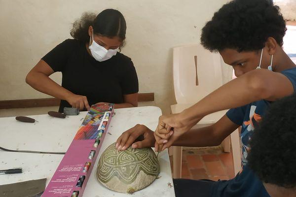 Rémire-Montjoly : Les graines de créativité semées à Fort Diamant