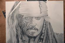 Jack Sparrow vu par Niko PK16