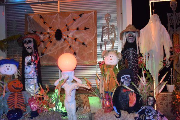 Halloween 2018 à la maison Martin de l'Anse-Vata.
