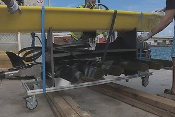 Le premier drône sous-marin en mission en Polynésie