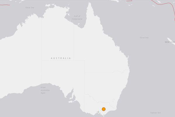 Australie : un séisme de magnitude 5,8 recensé