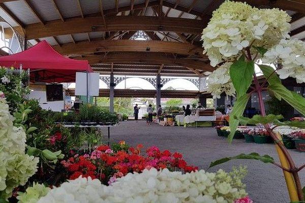 Marché aux fleurs La Plaine-des-Palmistes 031118