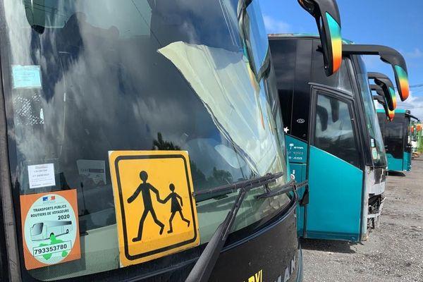 Transports scolaires en grève 1