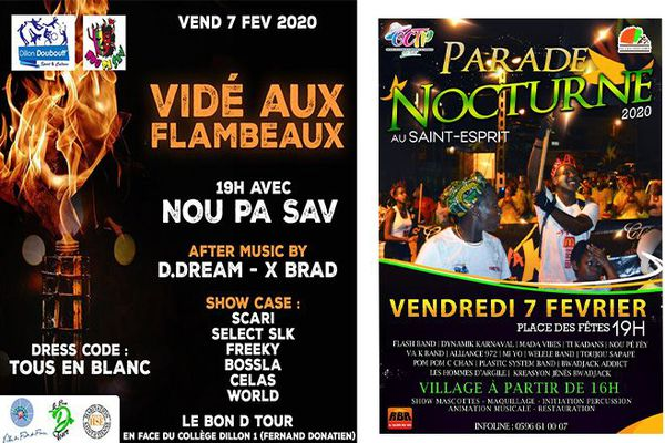 Affiche parade nocturne