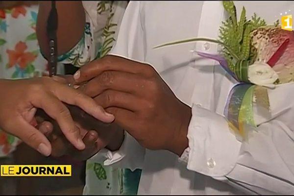 Un mariage exceptionnel à Pukarua