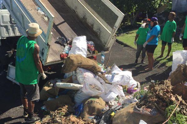 Ramassage déchets Paea