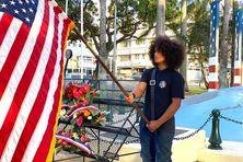 Les élèves des classes défense ont célébré la fin de la Guerre du Pacifique au côté des élus et des anciens combattants.