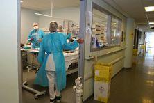 Centre hospitalier de Mayotte le 27 février 2021