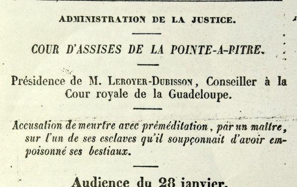 Archive du procès de Louis-Joseph Vallentin