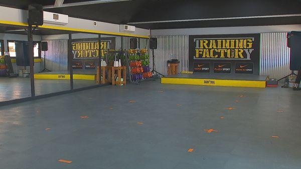 Salle sport COVID
