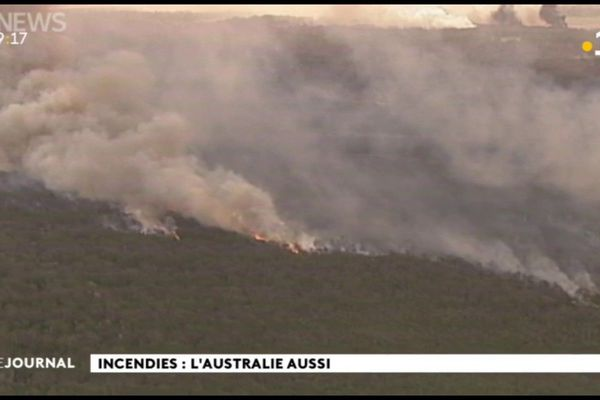 Incendies en Australie, Sydney suffoque
