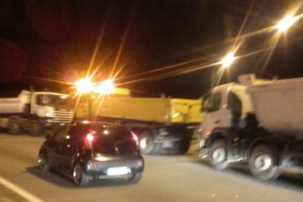 Camions greve 23 mars