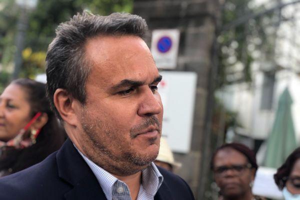 Didier Robert, président de la Région Réunion.