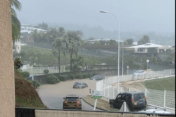 inondations à Punaauia