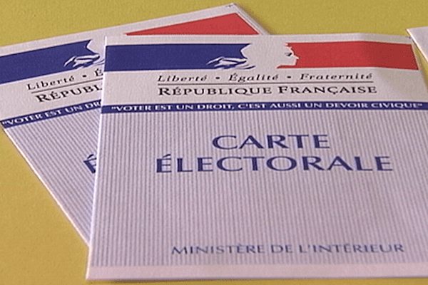 Reprise carte électorale