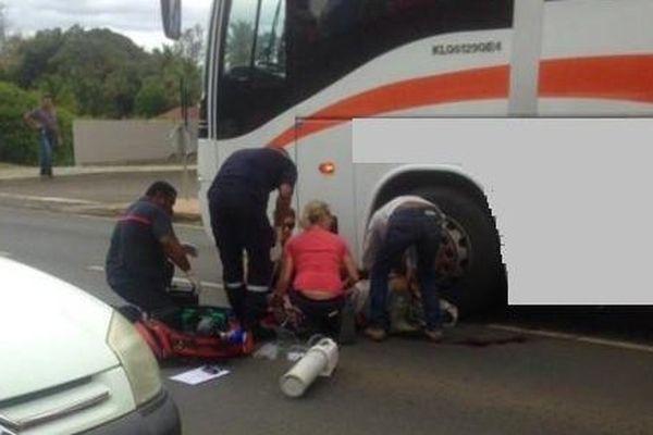Un jeune garçon percuté par un bus, lundi 19 Octobre
