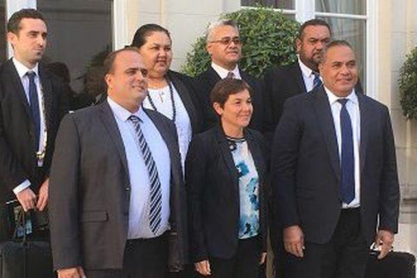 Les élus du territoire reçu au ministère des OM le jeudi 17 mai 2018