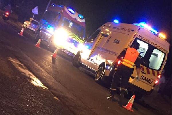L'accident a eu lieu vers 20H au PK 21,9 à Paea mercredi soir.