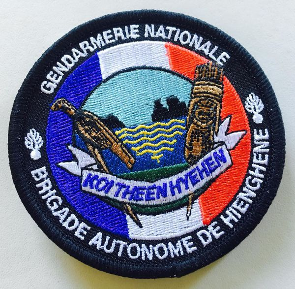 Ecusson gendarmerie Hienghène.