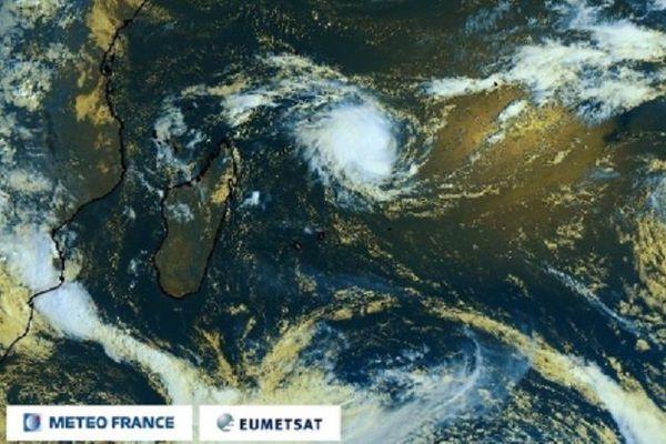 La tempête tropicale Eloïse, ce dimanche 17 janvier.