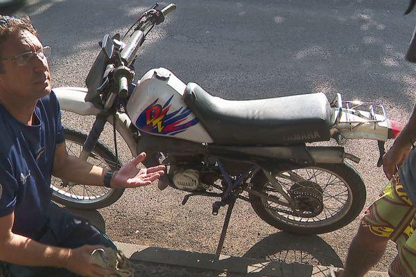 Contrôle gendarmerie deux roues