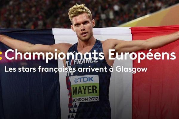 Championnats européens : les stars françaises arrivent Championnats européens à Glasgow
