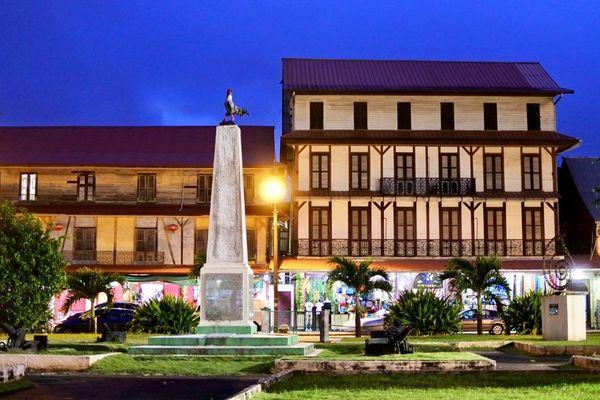 Place du Coq à Cayenne