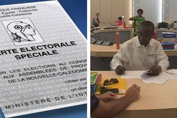 Commissions administratives spéciales. Listes électorales